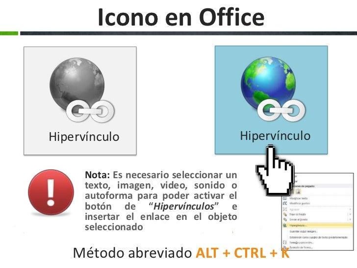 Hipervinculos En Office