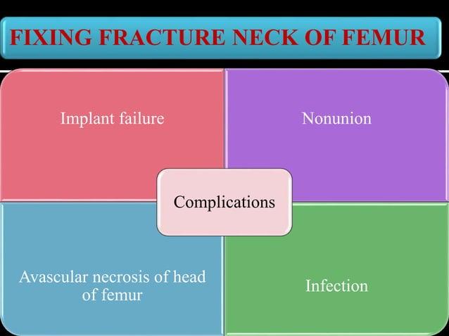 FEMORAL NECK FRACTURES: HEMIARTHROPLASTY Elderly : above 50 years / weak osteoporotic bone Replace Head of femur - Hemiart...