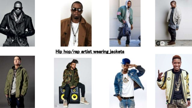Hip Hop Rap Artist Wearing Jackets
