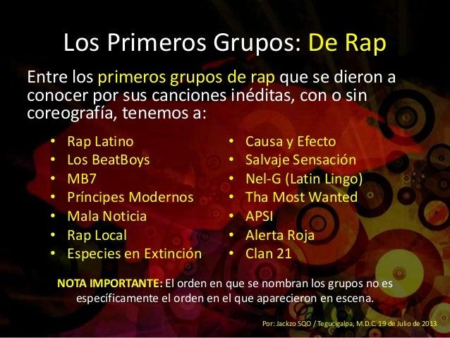 hiphop de honduras rese 241 a historica resumen 1era parte
