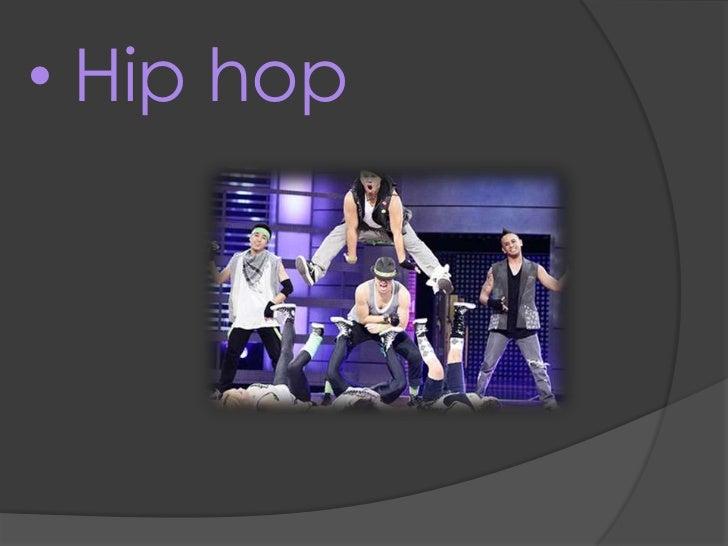 <ul><li> Hip hop</li></li></ul><li>O hip hopé uma cultura artística que iniciou-se durante a década de 1970 nas áreas cent...