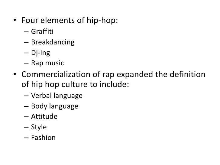 Hip0hop research paper