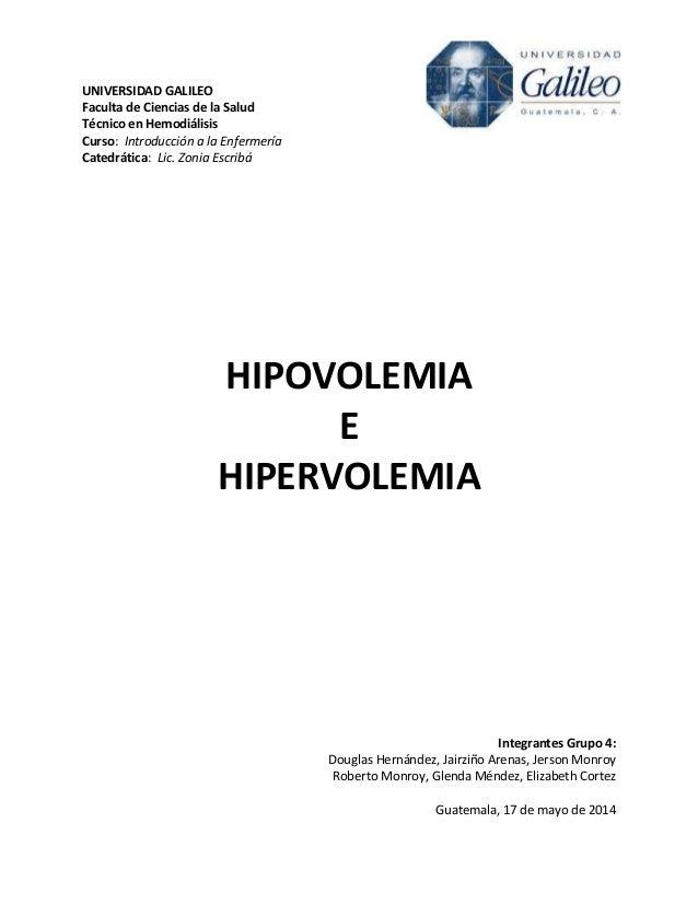 UNIVERSIDAD GALILEO Faculta de Ciencias de la Salud Técnico en Hemodiálisis Curso: Introducción a la Enfermería Catedrátic...
