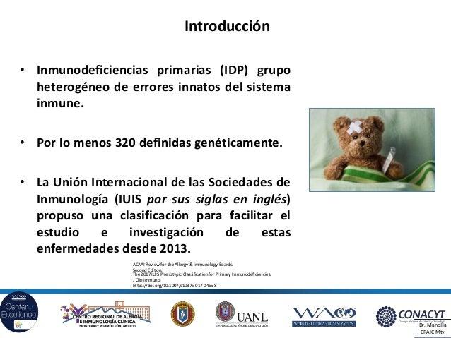 Hipogammaglobulinemia transitoria. Deficiencia de IgA. Deficiencia específica de anticuerpos. Slide 2