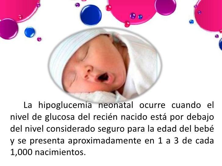 Hipoglucemia neonatal