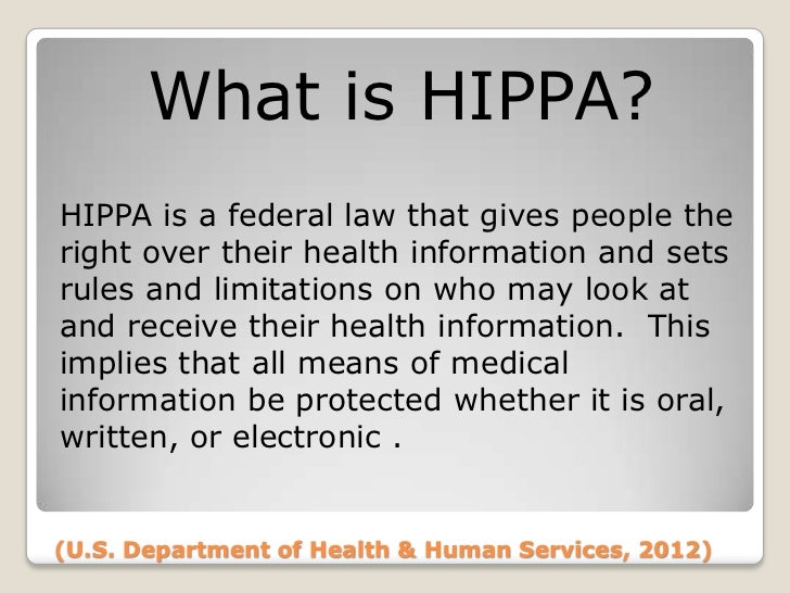 how hippa violations affect the medical Hcr/220 week 9 final project: how hipaa violations affect the medical billing process  once a complain of hipaa violation is filed an investigation begins .