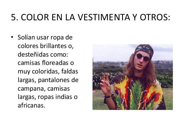 Hippies - Ropa de los hippies ...