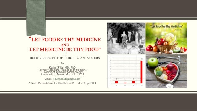 how true is hippocrates teaching that food is medicine 2000 years ago 1 638