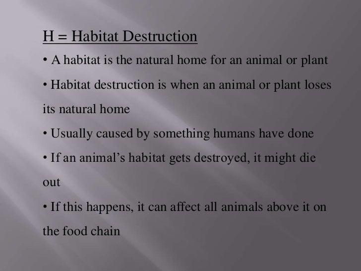 Destruction Of Natural Resources Definition