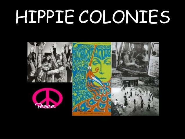 HIPPIE COLONIES