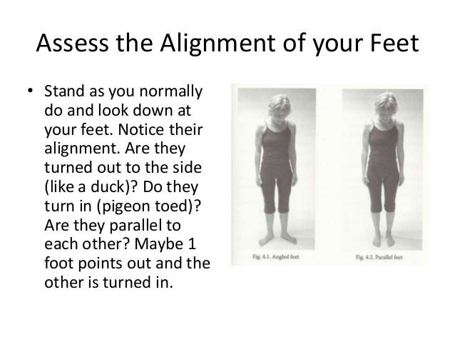 Hips, knees, and feet online presentation