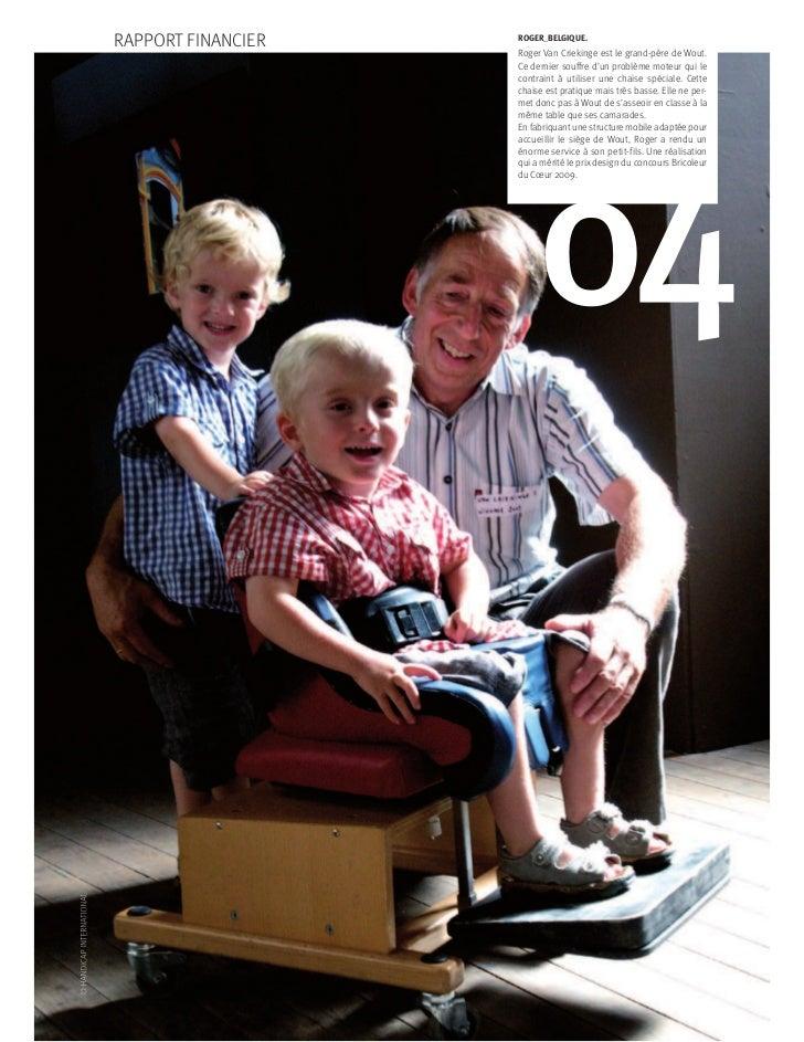 RAPPORT FINANCIER   ROGER_BELGIQUE.                    Roger Van Criekinge est le grand-père de Wout.                    C...