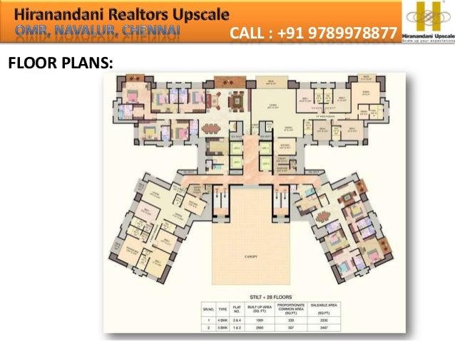 House Of Hiranandani Tiana Call 09789978877 Omr Navalur