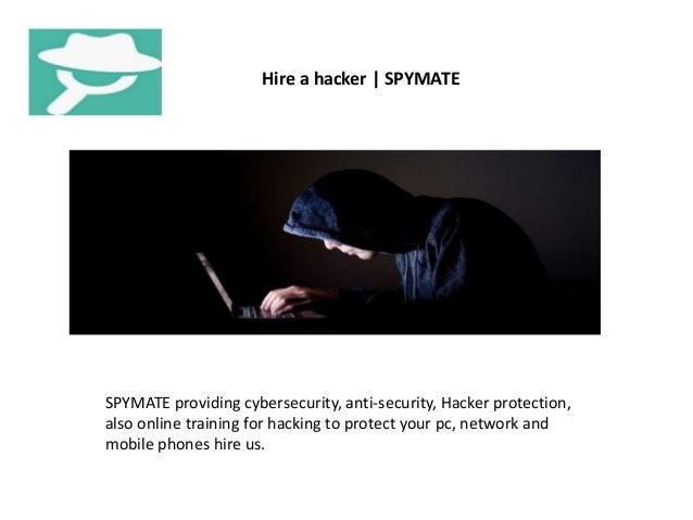 Hire a hacker | SPYMATE