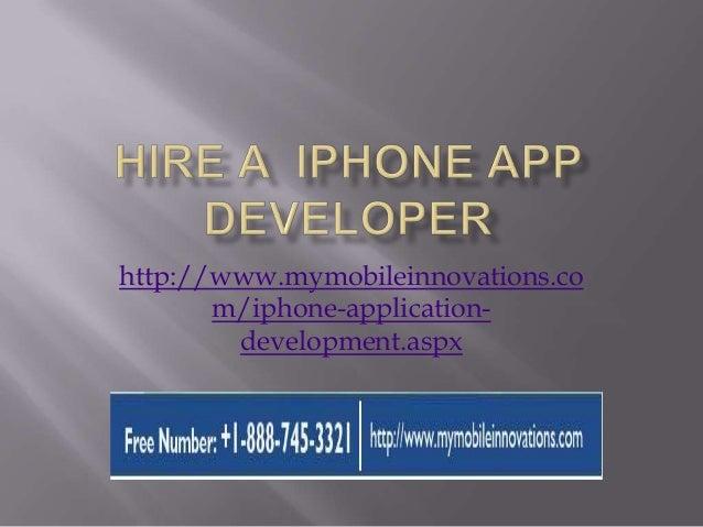 http://www.mymobileinnovations.co m/iphone-application- development.aspx