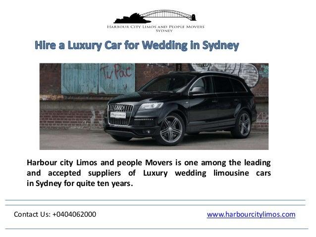 Hire A Luxury Car For Wedding In Sydney