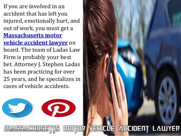 Hire A Massachusetts Motor Vehicle Accident Lawyer