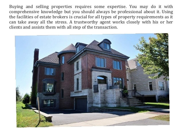 Hire a reliable real estate agent to get the best property deal - 웹