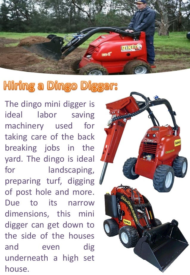 Dingo Post Hole Digger