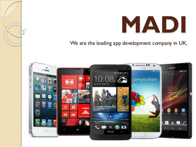 MADI We are the leading app development company in UK.