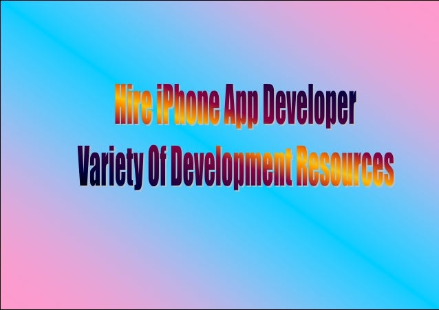 New series of the iPhone, Apples innovative smartphone has created achange in the iPhone apps development and demand for t...