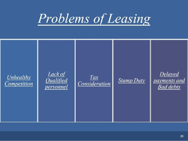 Leasing & hire purchase