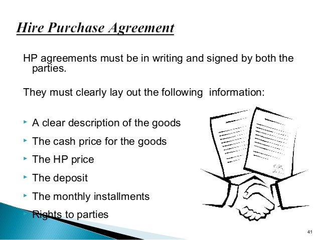 Hire purchase leasing 40 41 hp agreements platinumwayz