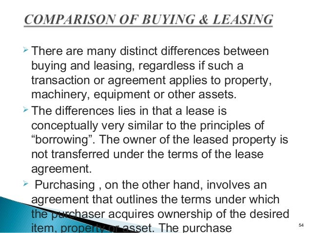 Hire Purchase  Leasing