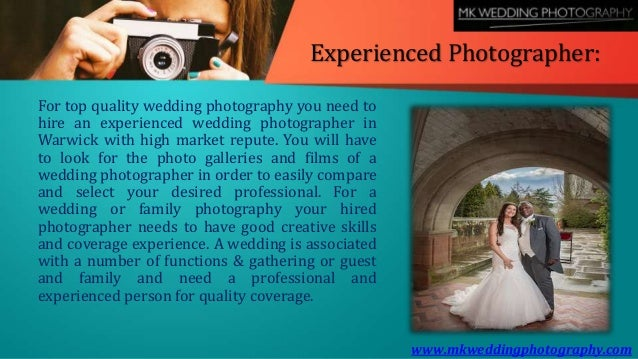 Hire the Services of a Professional and Experienced Wedding