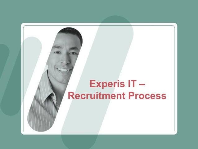 Experis IT – Recruitment Process