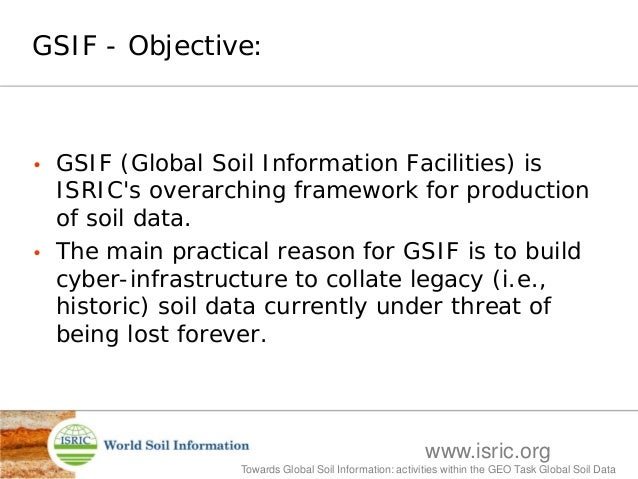 Global soil information facilities current status hi for Soil pictures and information