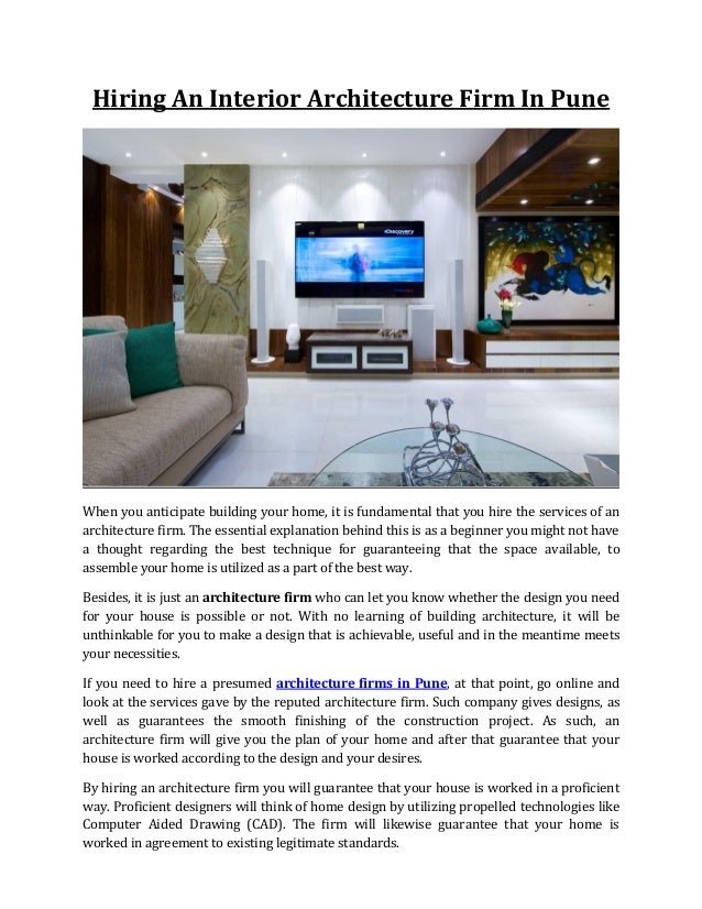 Home interior design company in pune awesome home for Companies that hire interior designers