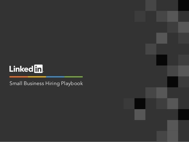 Small Business Hiring Playbook