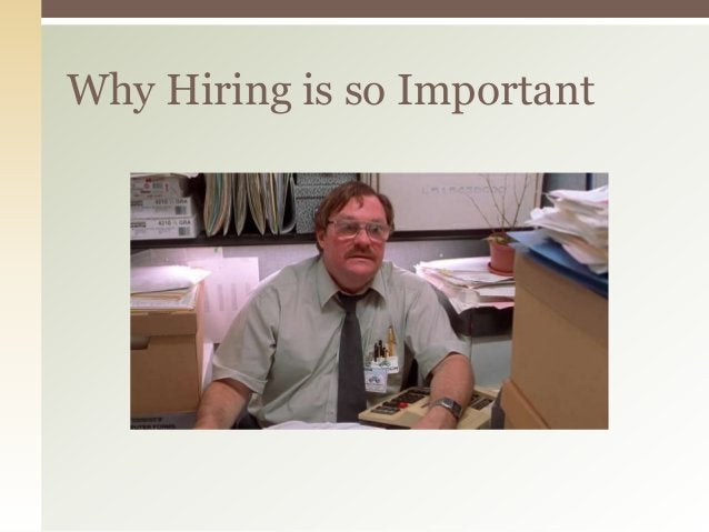 Why Hiring is so Important