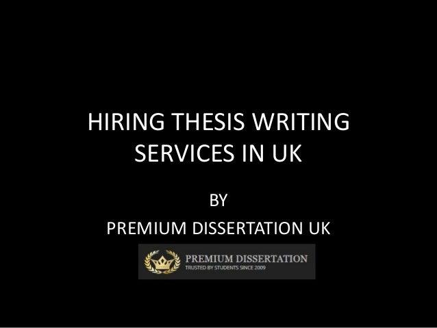 Dissertation proposal writing uk
