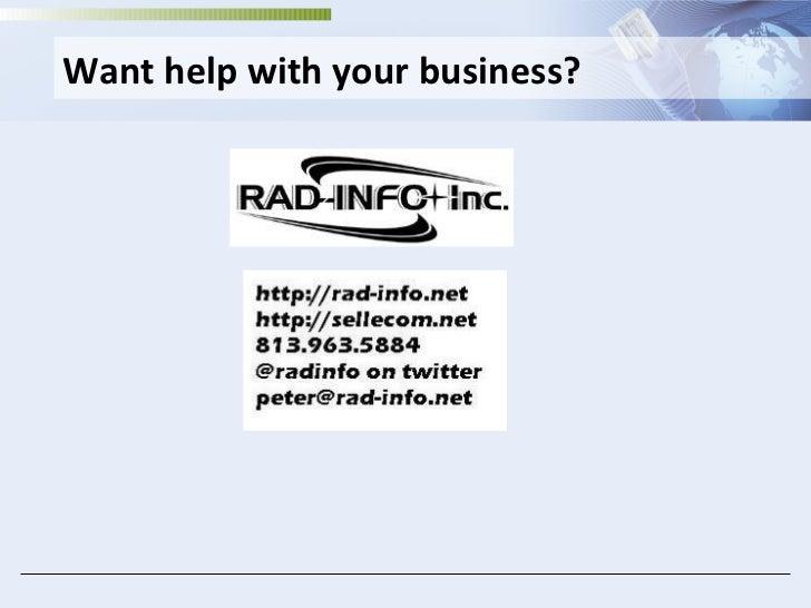 <ul><li>Want help with your business? </li></ul>