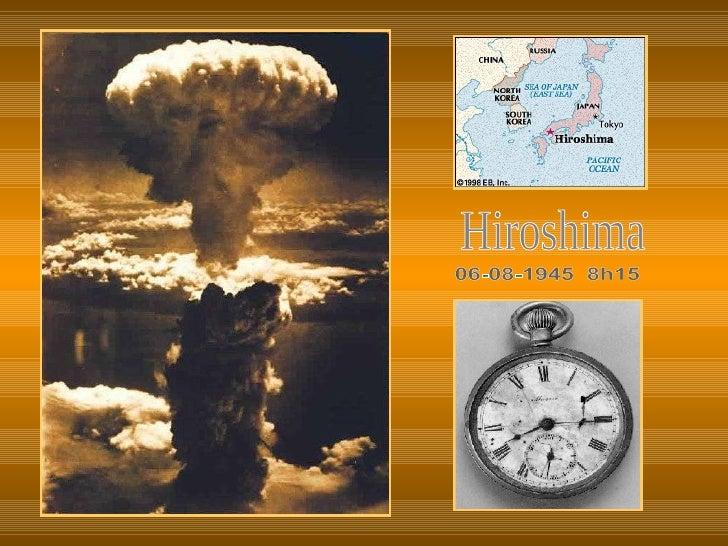 Hiroshima 06-08-1945  8h15