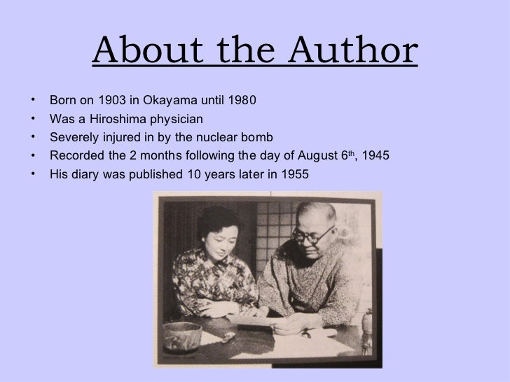 hiroshima diary But professor bernstein said his review of admiral leahy's diary  called a  redefinition of morality that made hiroshima and nagasaki possible.