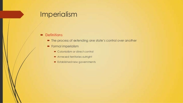 an analysis of the western imperialism in the nineteenth and twentieth century American imperialism and the effects on the western hemisphere and the pacific american policies during late nineteenth and early twentieth centuries leading up to world war ii were imperialistic and forceful so basically at the start of the twentieth century.