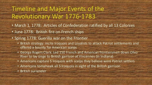 annotated timeline 1763 1783 Timeline configuration has no events the british colonists of mainland north  america had great hopes for the future in 1763, when the peace of paris formally .