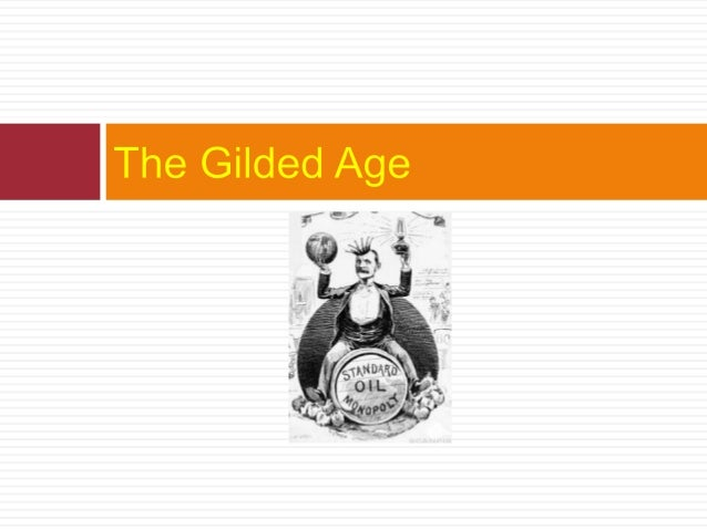 what does gilded age mean