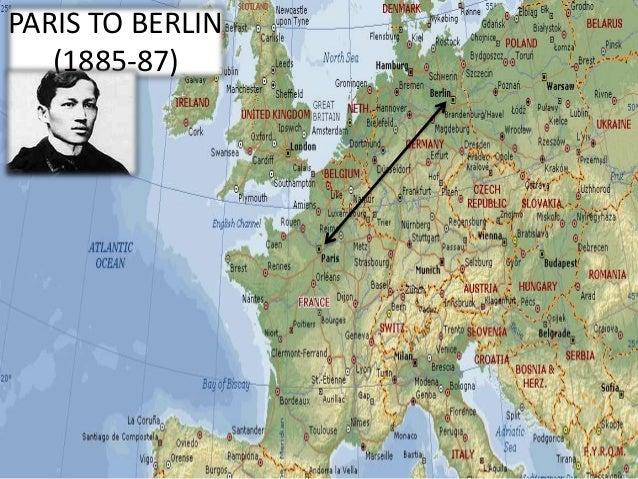 rizal - paris to berlin (1885-87) essay Jose rizal's chapter 7 - paris to berlin 1885-1887.