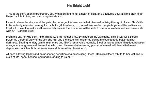 his bright light book