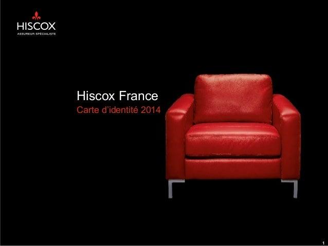Hiscox France Carte d'identité 2014 1