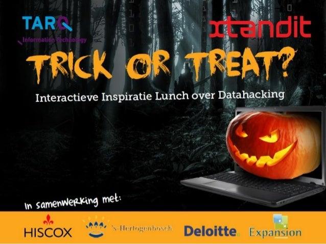 31-10-2014  DATAHACKING HALLOWEEN EVENT