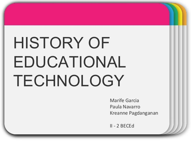 A History of Education Technology