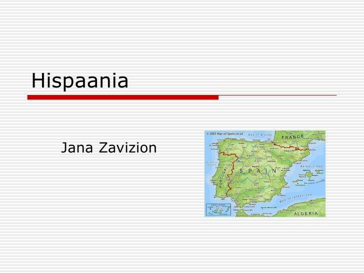 Hispaania  Jana Zavizion