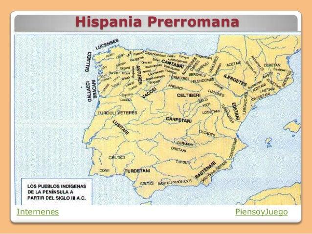 Hispania Prerromana Internenes PiensoyJuego