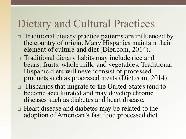 hispanic culture impact of traditional methods