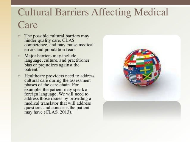 cultural competance in health care National center for cultural competence (georgetown university, center for  child and human development), has educational resources, publications and.